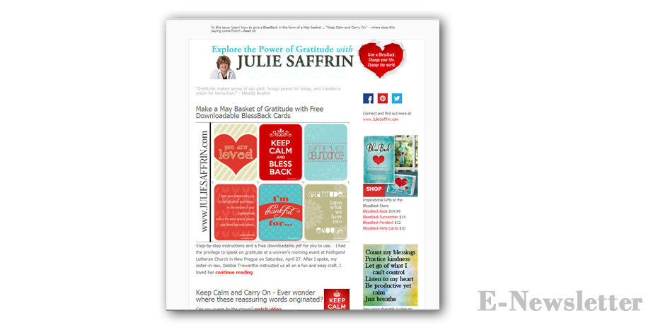 Julie saffrin angie 39 s creative for Mailchimp ecommerce templates