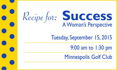 Recipe for Success Score Minneapolis