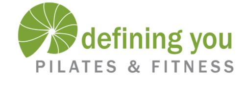 Defining You Fitness logo design Angie Hughes