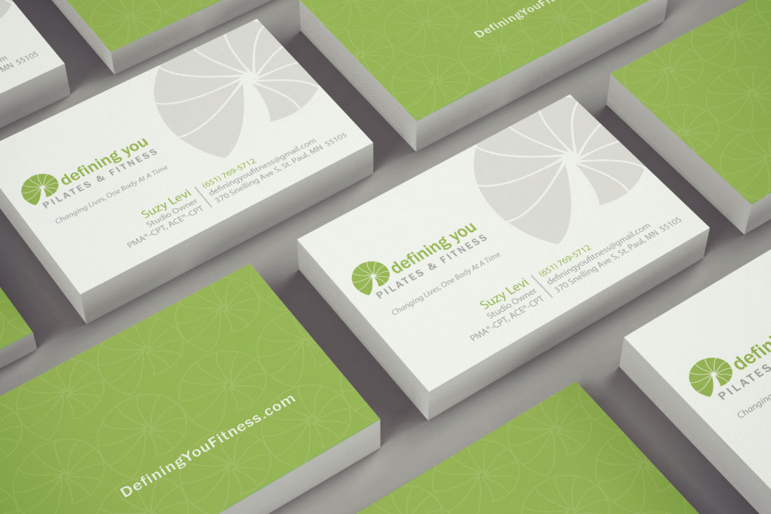 Defining You Business Card Graphic Design by Angie Hughes AngiesCreative.com