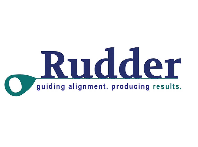 Rudder Results Consultant Logo Design Eden Prairie