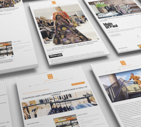 Retail Store Website Design Mall of America