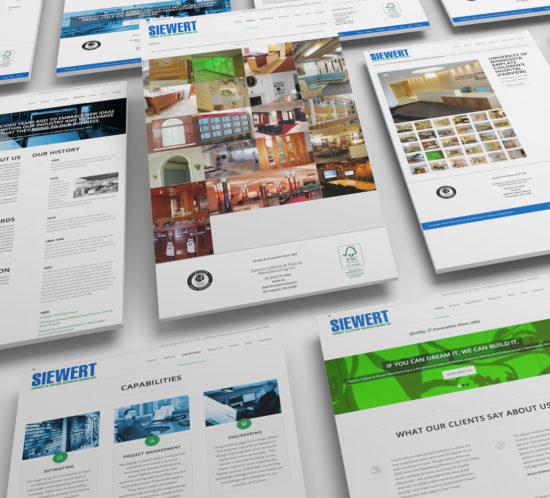 Website Design Siewert Cabinet Minneapolis