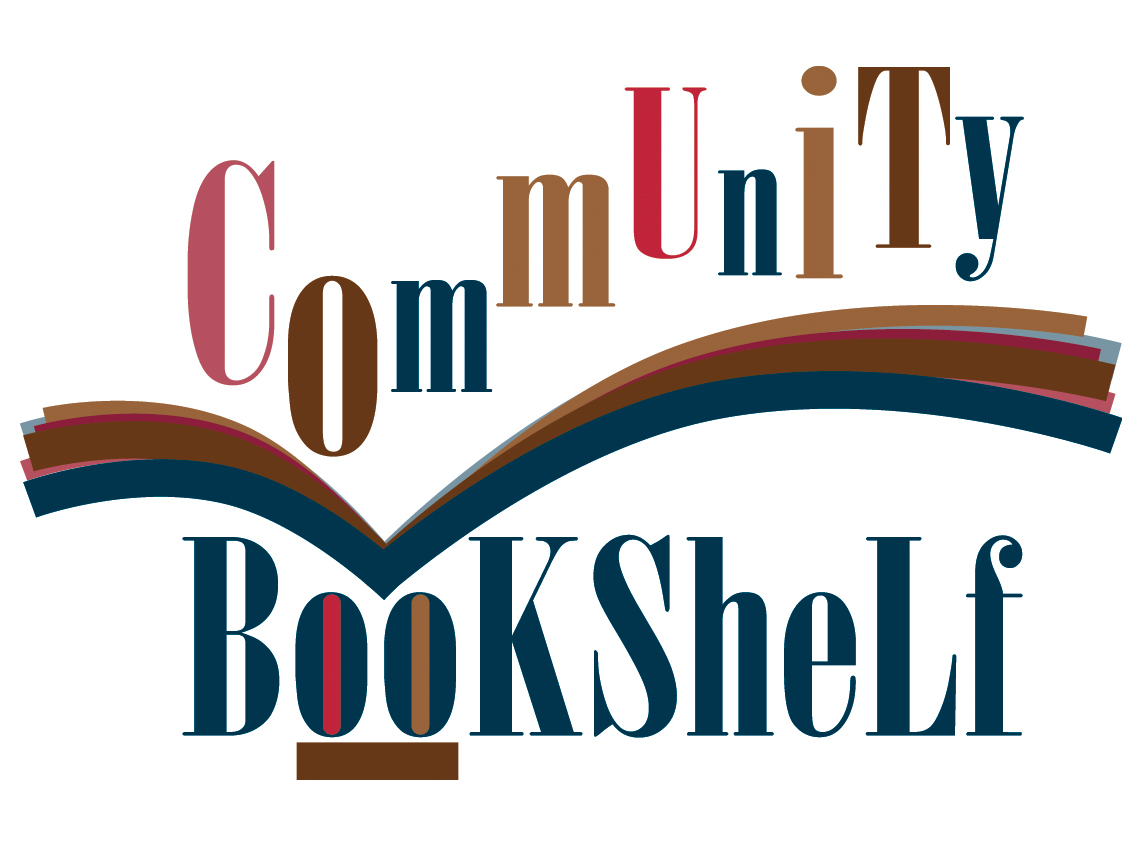 Community Book Shelf Logo Design