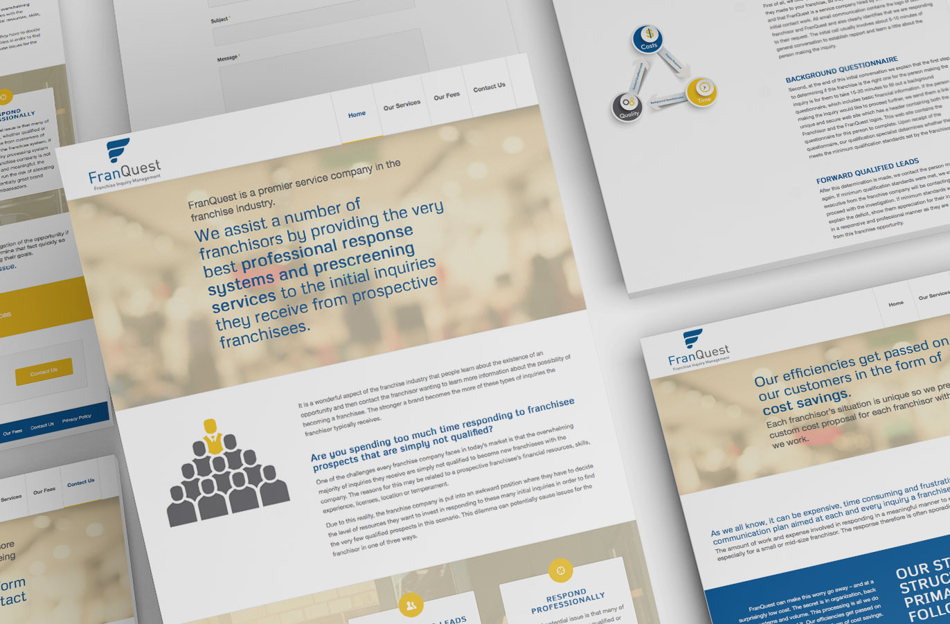 Minneapolis Website Designer Small Business Angies Creative FranQuest