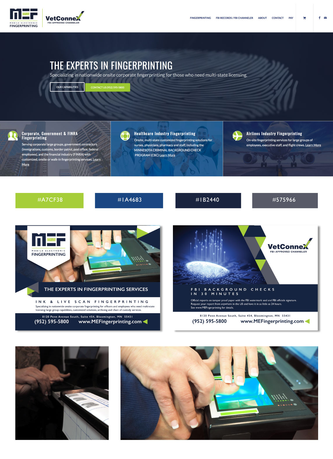 Mobile Electronic Fingerprinting Angies Creative